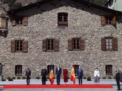 First Spanish Royal visit to Andorra in 602 years