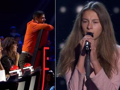 Famous politician's daughter leaves 'The Voice Kids' coaches in raptures with Amy Winehouse number