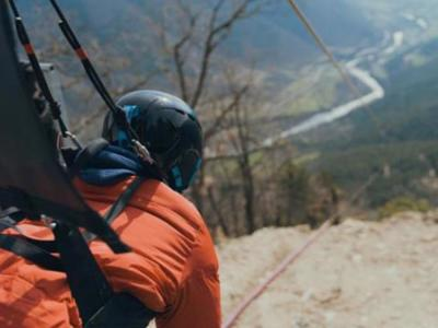 Spain's tallest zip-line beats world speed record