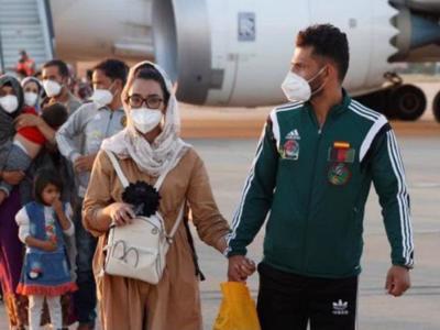 Afghan national women's wheelchair basketball team captain flown safely to Spain