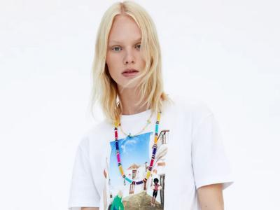 Spanish village scenes adorn Zara's latest T-shirt collection
