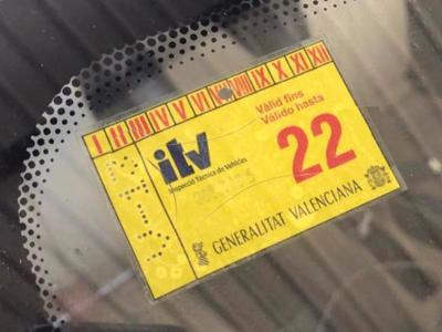 Owners of parked cars cannot be fined for out-of-date ITV compulsory technical inspection stickers