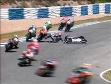 Four speed racers injured in Jérez pile-up
