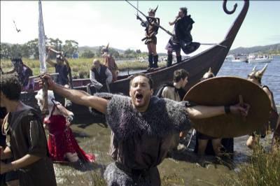 Galician town repels Viking invasion