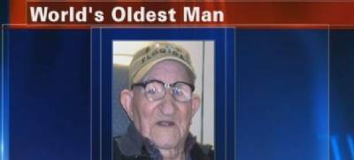 World's oldest man, a Spanish expatriate in the USA, dies aged 112