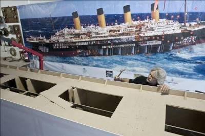 Biggest Titanic model in the world built on Costa Brava