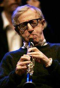 Woody Allen and the New Orleans Jazz Band in concert in Badajoz