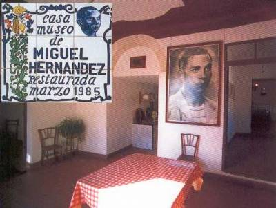 Poet Miguel Hernández and his wife 'share' a museum in Jaén
