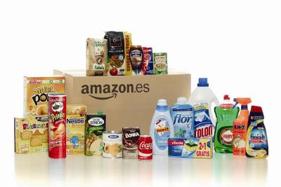 Amazon Spain launches online grocery shopping