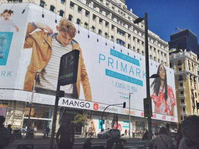 Where is the primark store in castellón?