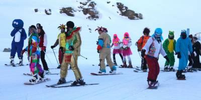 Sierra Nevada carnival hits the slopes