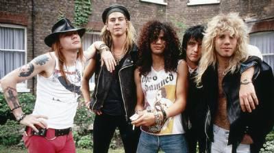 Guns 'N' Roses live in Bilbao
