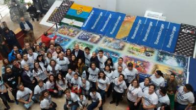 World's biggest jigsaw finished in 46 consecutive hours in Algeciras