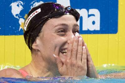 A fish called Mireia: Spain's Olympic gold winner nets world championship medal
