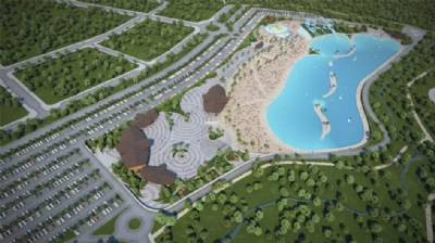 Biggest land-locked beach in Europe to open in 2020