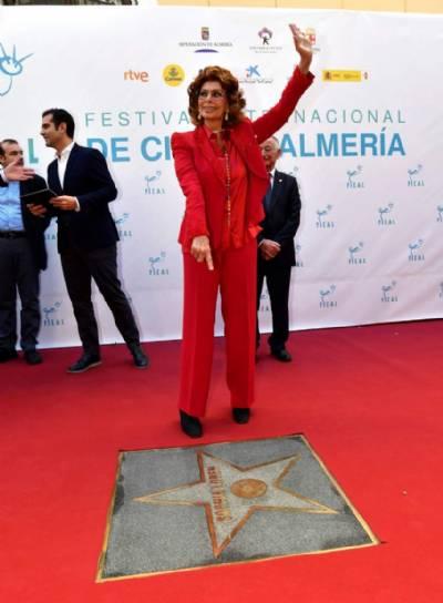 Sophia Loren earns star on Almería Walk of Fame