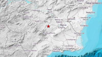 Earthquakes of 4.1 and 3.3 in Murcia