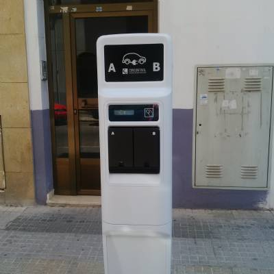 Fast-track electric car charging point on Valencia-Madrid motorway