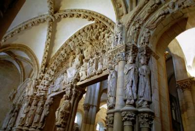Santiago cathedral's La Gloria portico restored