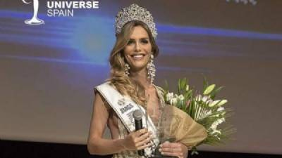 Model Ángela Ponce, first transsexual Miss Universe Spain