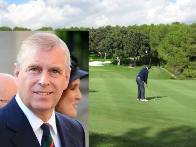 Prince Andrew takes a break in Valderrama and Sotogrande