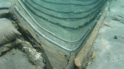 Debate over future of Mazarrón's 2,700-year-old boat
