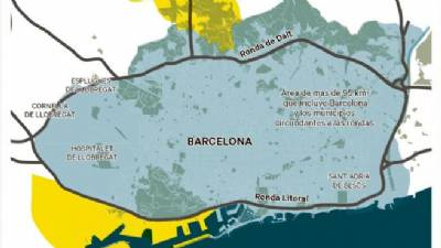 High-emission cars to be banned from central Barcelona in area 20 times the size of Madrid Central