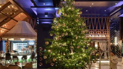 World's most expensive Christmas tree on display in Estepona hotel
