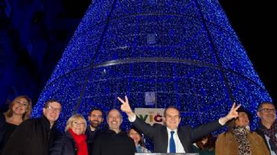 Vigo responds to 'New York Times' over Christmas light climate change criticisms