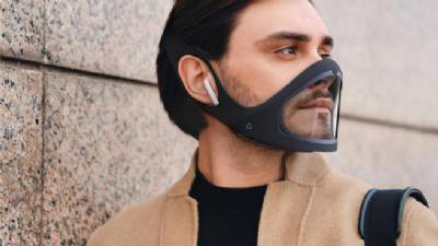 Hi-tech self-cleaning 'smart-mask' created by Spanish designer