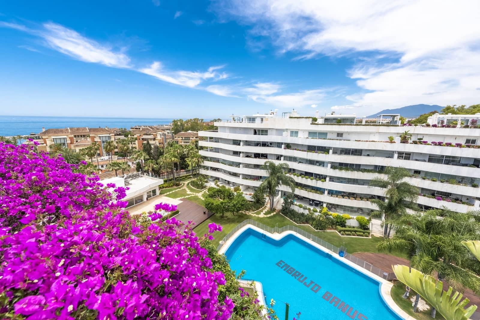 4 camera da letto Attico da affitare come casa vacanza in Marbella con piscina - 15.000 € (Rif: 6069318)