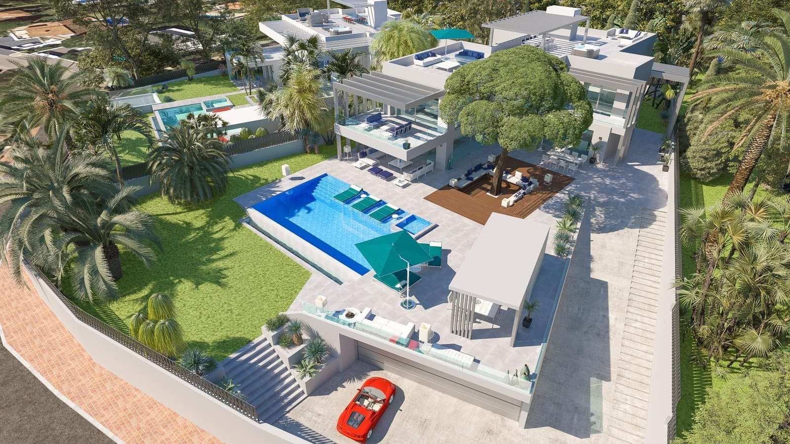6 bedroom Villa for sale in Marbella - € 4,328,000 (Ref: 5128055)