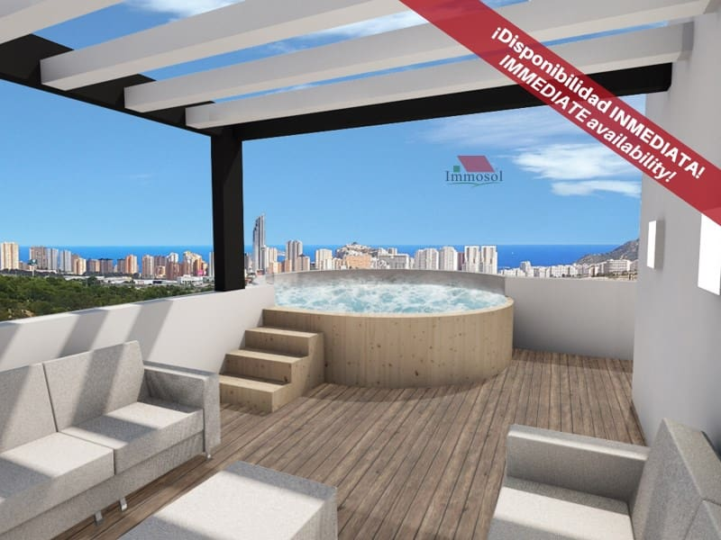 2 bedroom Terraced Villa for sale in Finestrat with garage - € 159,900 (Ref: 4345050)