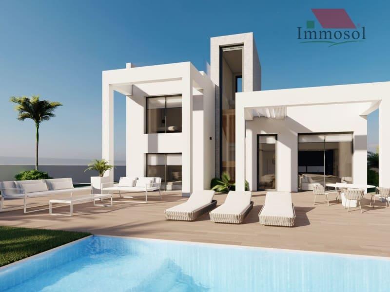 3 bedroom Villa for sale in Finestrat with pool garage - € 389,900 (Ref: 4661856)