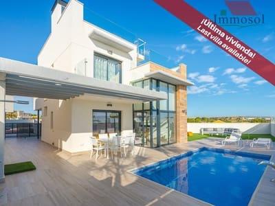 Chalet de 3 habitaciones en Orihuela Costa en venta con piscina garaje - 289.900 € (Ref: 5235862)