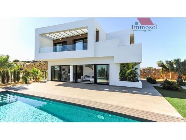 Chalet de 4 habitaciones en San Fulgencio en venta con piscina garaje - 452.400 € (Ref: 5235924)