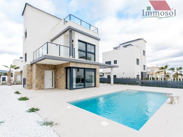 3 Zimmer Villa zu verkaufen in Castalla mit Pool Garage - 295.900 € (Ref: 5235946)