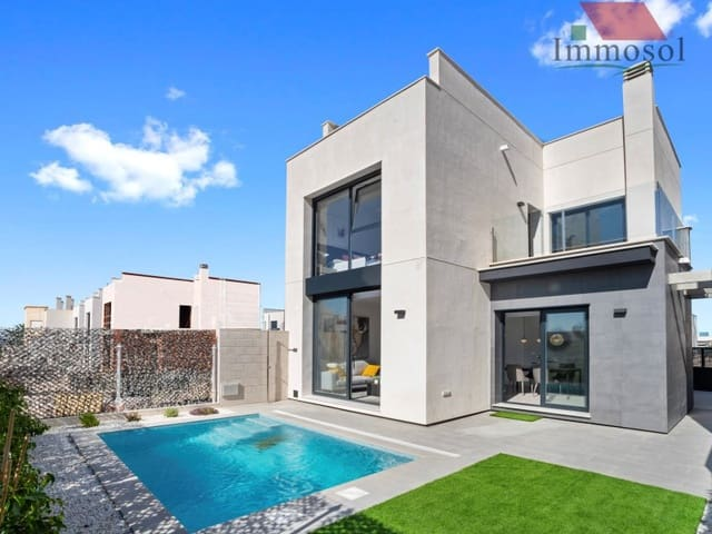 3 bedroom Villa for sale in Orihuela Costa with pool garage - € 235,000 (Ref: 5236144)