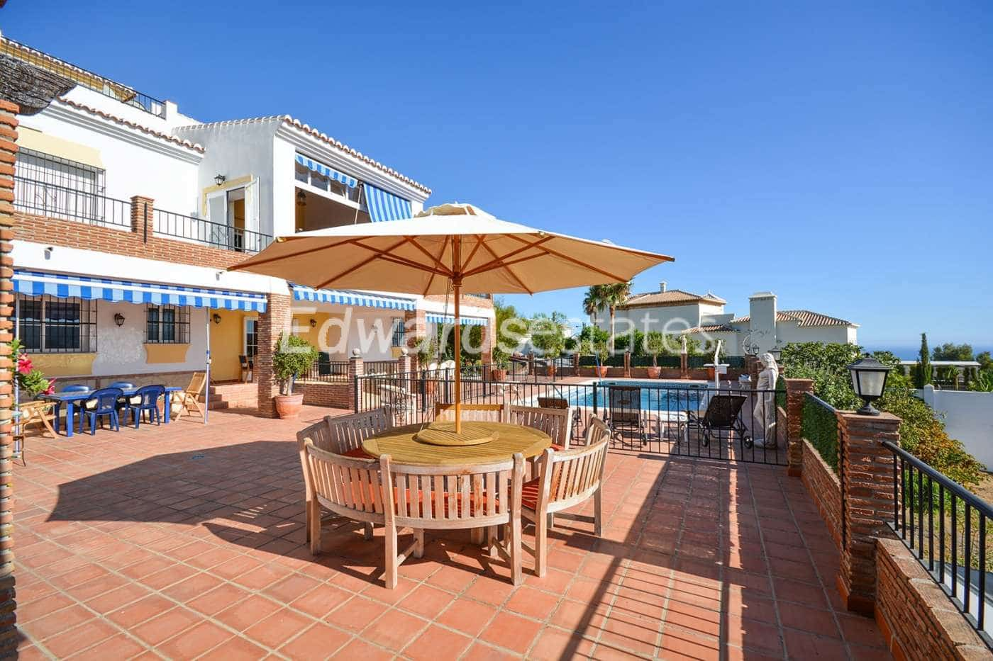 6 bedroom Villa for sale in Nerja with pool garage - € 995,000 (Ref: 2348316)