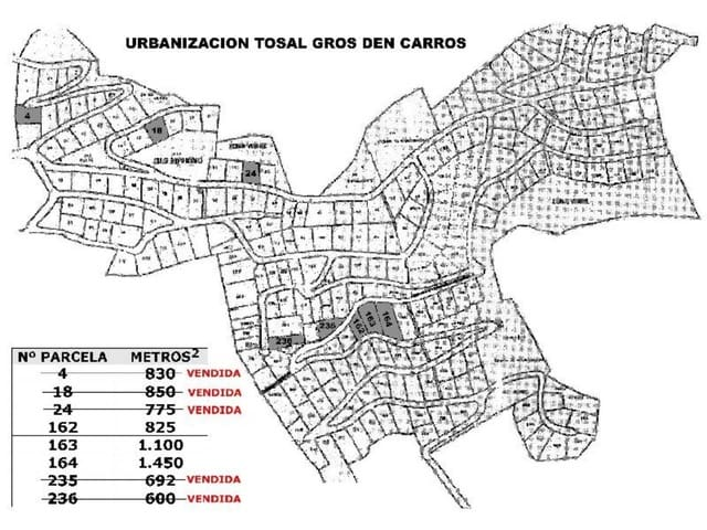 Terrain à Bâtir à vendre à La Font d'En Carros - 90 000 € (Ref: 2571240)