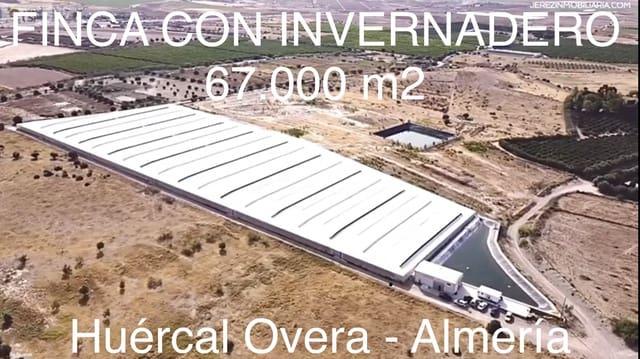 Ubebygd land til salgs i Huercal de Almeria - € 1 050 000 (Ref: 6223195)
