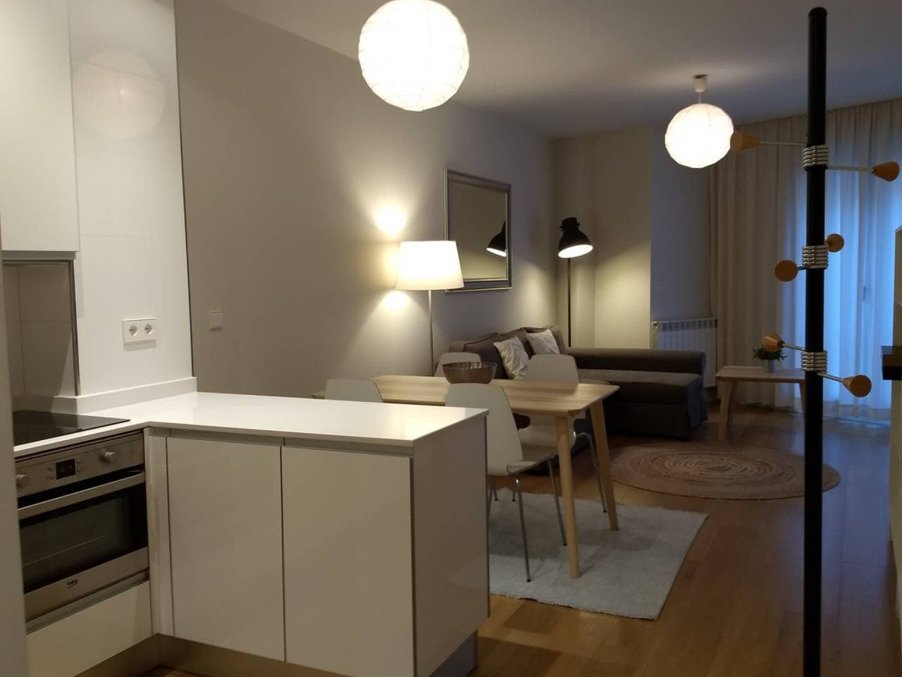 Appartement de 1 chambre à louer à Bilbao - 1 100 € (Ref: 4374629)