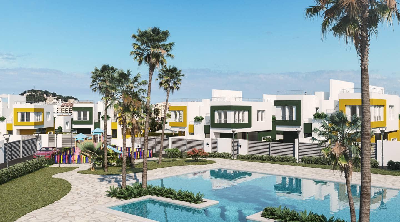 2 Zimmer Doppelhaus zu verkaufen in Denia mit Pool - 315.000 € (Ref: 5682069)