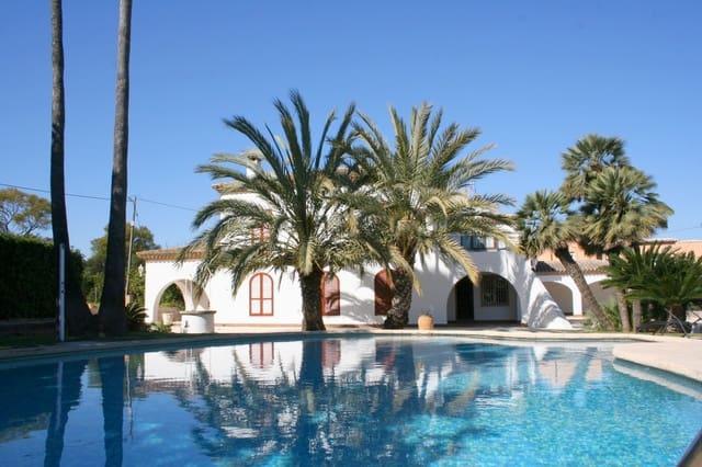 6 sypialnia Willa do wynajęcia w Pedreguer z basenem garażem - 2 300 € (Ref: 5134750)