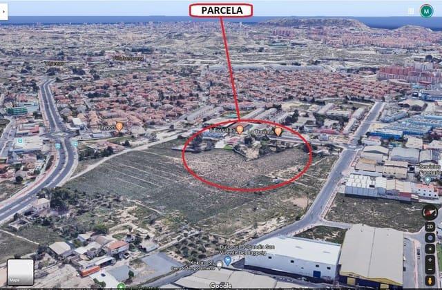 Mark till salu i San Vicente / Sant Vicent del Raspeig - 3 000 000 € (Ref: 3099651)