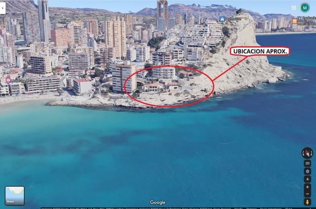 Undeveloped Land for sale in Cala de Finestrat - € 1,500,000 (Ref: 5431974)