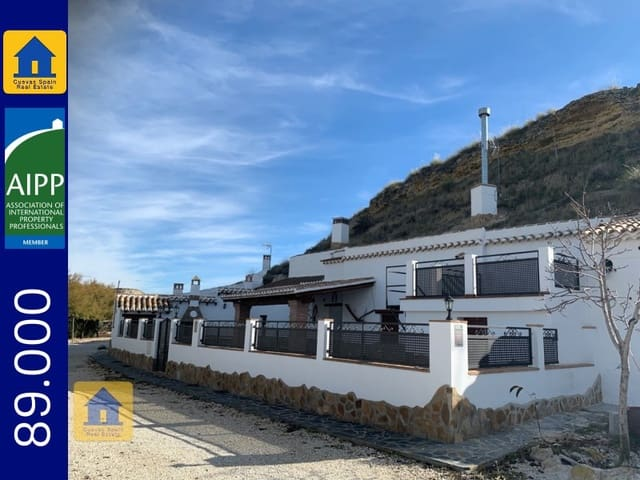 4 bedroom Cave House for sale in Galera - € 89,000 (Ref: 5531732)