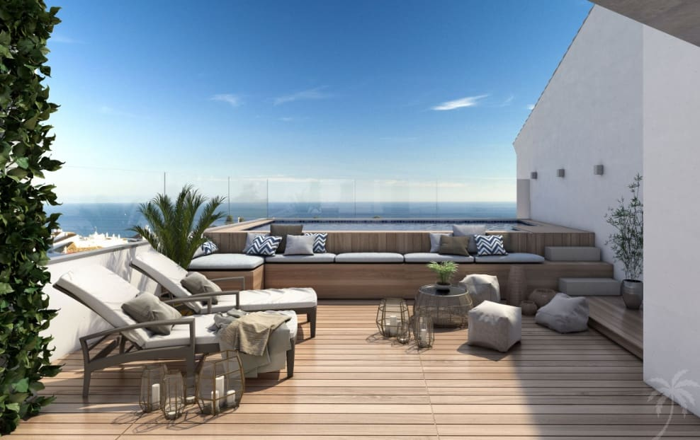 3 bedroom Penthouse for sale in Benalmadena with pool - € 355,000 (Ref: 4902708)