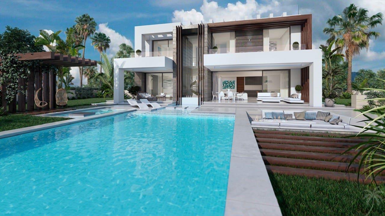 4 bedroom Villa for sale in Manilva with pool - € 985,000 (Ref: 4902894)