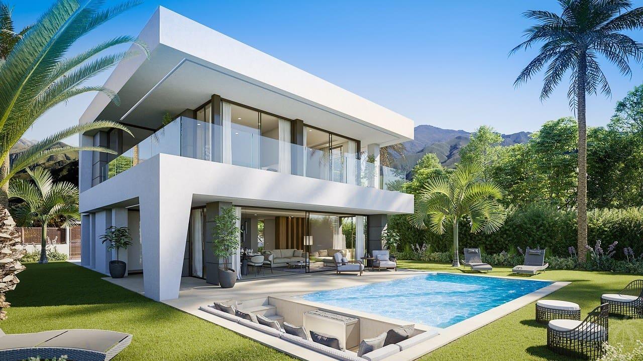 3 bedroom Villa for sale in Manilva with pool - € 525,000 (Ref: 4903109)